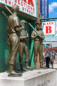 Teammates Statue