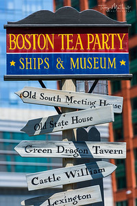 Boston Tea Party Sign