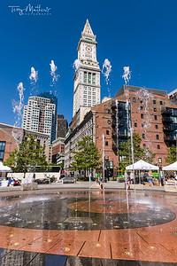 Rings Fountain, Boston Massachusetts - USA