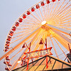The Ferris Wheel at Navy Pier in Chicago
