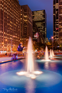 Midtown Manhattan Fountains