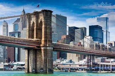 Brooklyn Bridge, Manhattan, New York