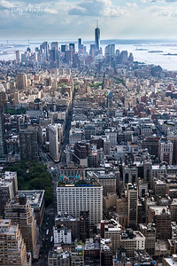 New York Daytime Skyline
