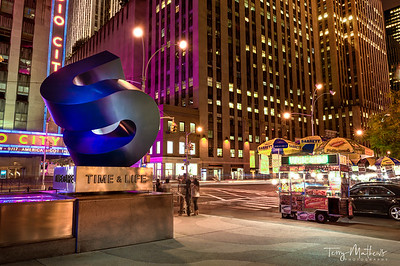 Time & Life Sculpture