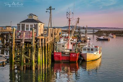 Plymouth Harbour - Massachusetts