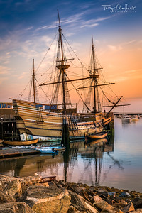 Mayflower Sunrise