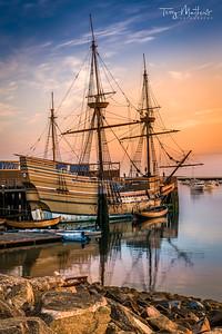 Mayflower Sunrise