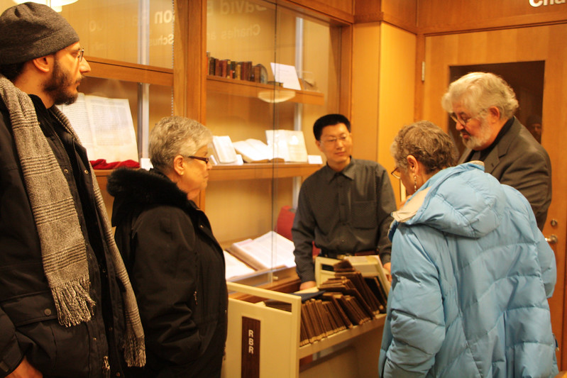 Michael Goller, Delores Goldfinger, and Joyce Alpiner with Shi Lei and Dr. Gilner