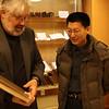 Dr. David Gilner with Shi Lei