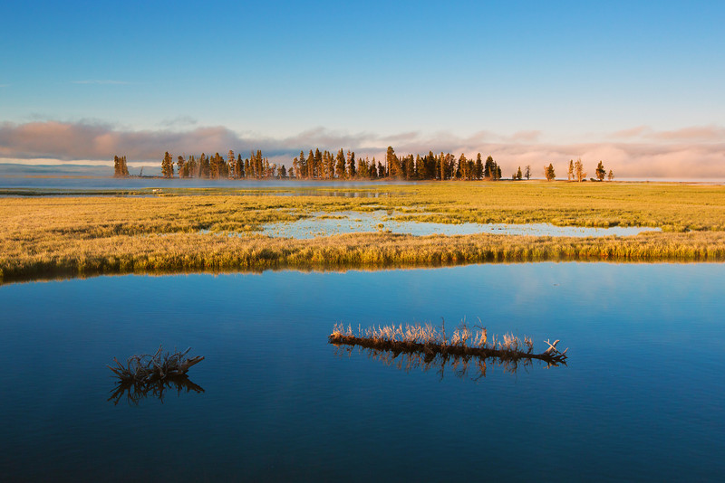 Lake Yellowstone Dawn