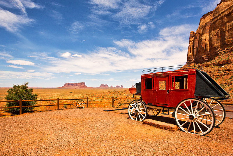 John Wayne's Cabin Monument Valley