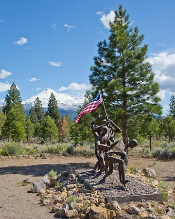 Living Memorial Sculpture
