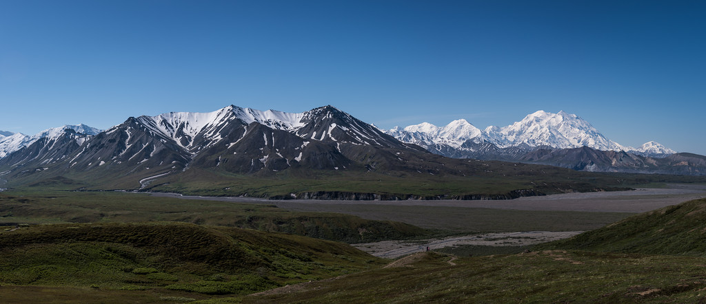 Denali from Eielison Visitors Center