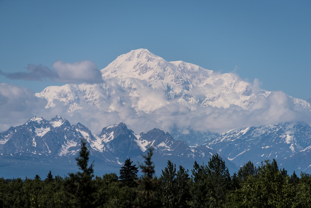 Denali from  Talkeetna AK