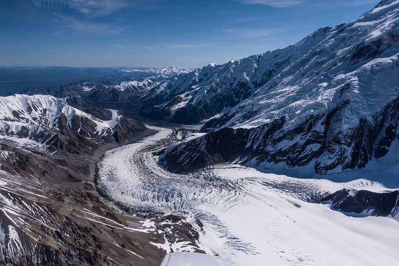 West Glacier of Denali