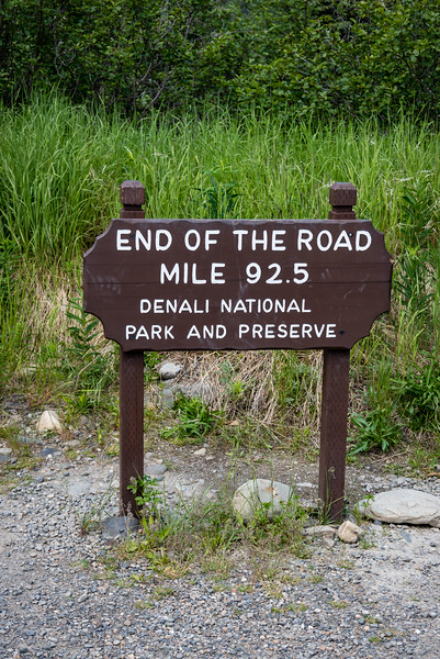 End of the Denali Park Road