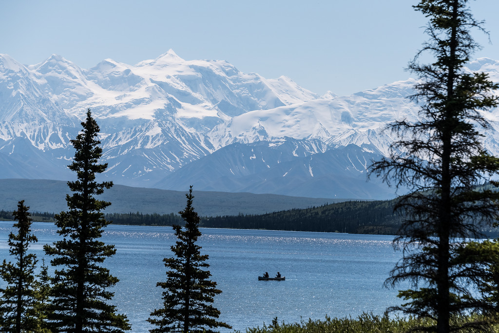 Wonder  Lake Alaska