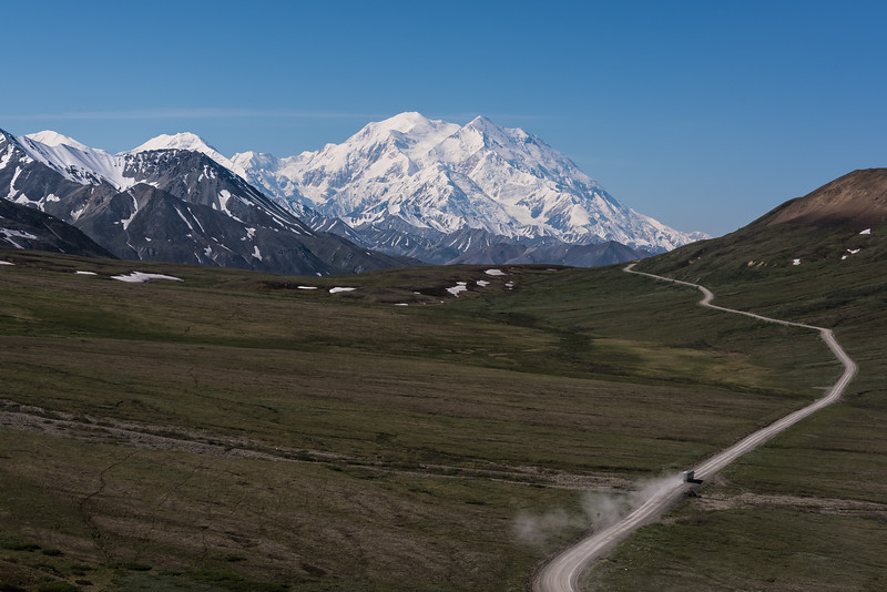 Denali from Stony Hill Overlook on Park Road