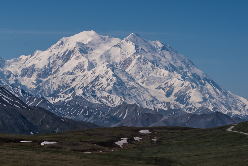 6,190-meter high Denali peak