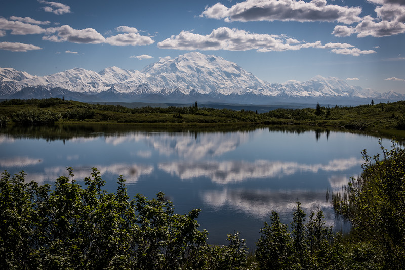Denali from Wonder  Lake Alaska