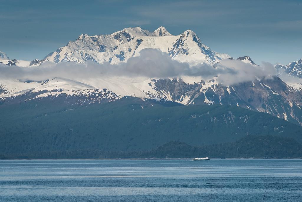Mt, Fairweather, 15,300 ft