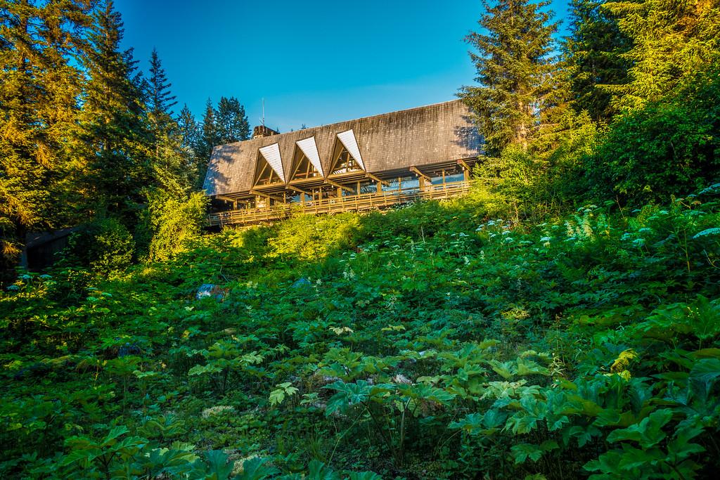 Glacier Bay Park Lodge on Bartlett Cove