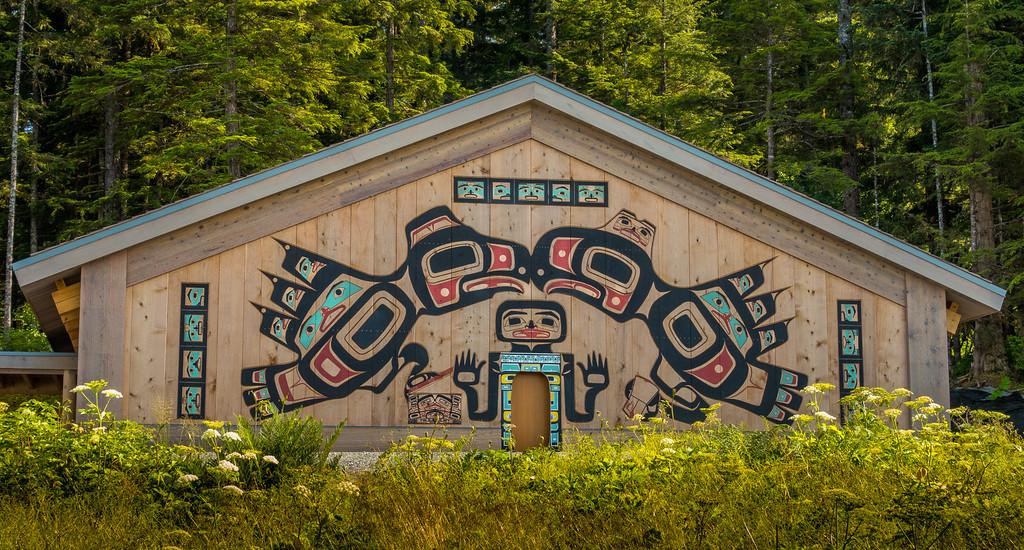 Huna Tlinglet Tribal House, 2016