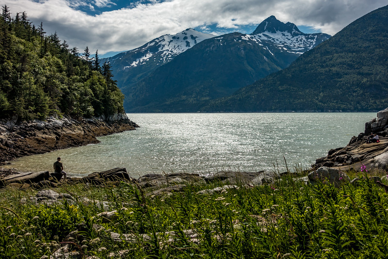 Hike to Smuggler's Cove Near Skagway