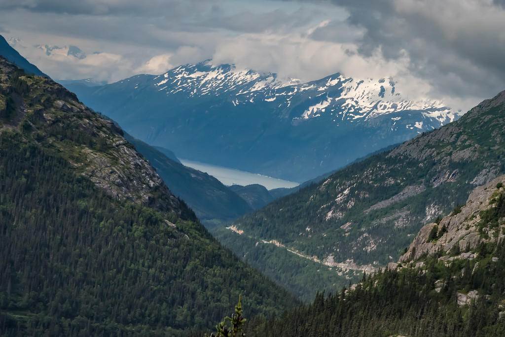 Skagway From White Pass