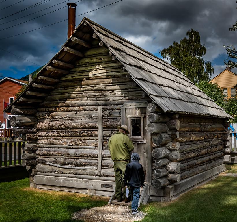 Moore Cabin, Olderst Structure in Skagway. circa 1887-88