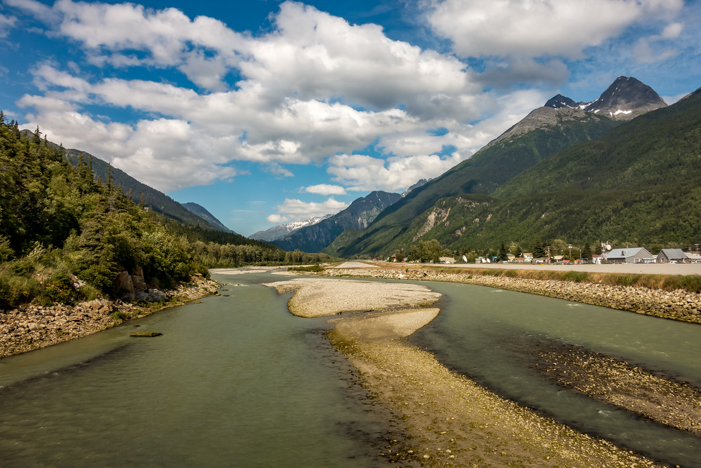 Skagway AK Toward White Pass