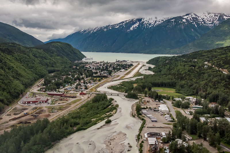 Landing at Skagway AK Airport