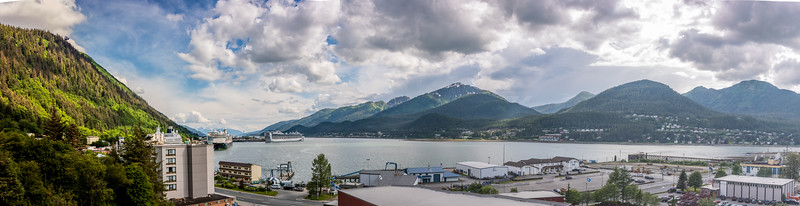 Panorama of Juneau from Health Department