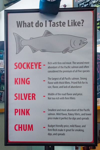 5 Main Types of Salmon - Macaulay Hatchery