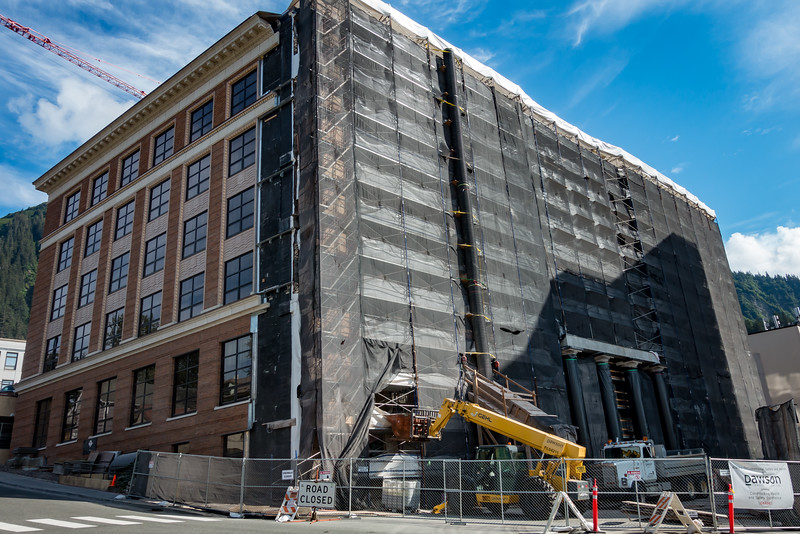 Alaska State Capitol Building - Under Construction