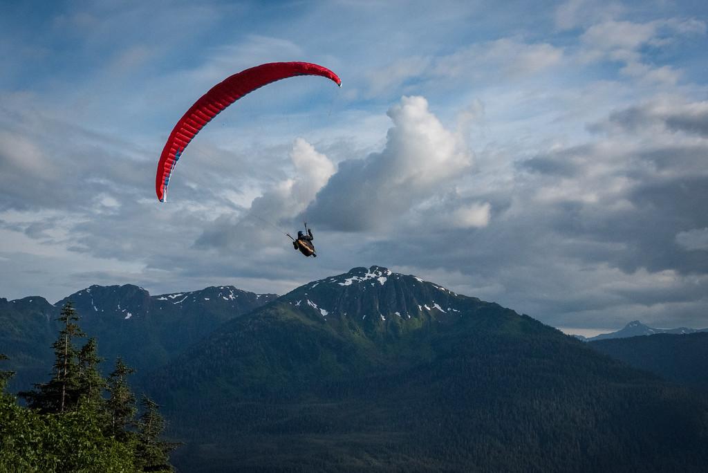 Flight from Mt Roberts