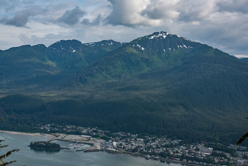 Douglas Island, Across from Juneau
