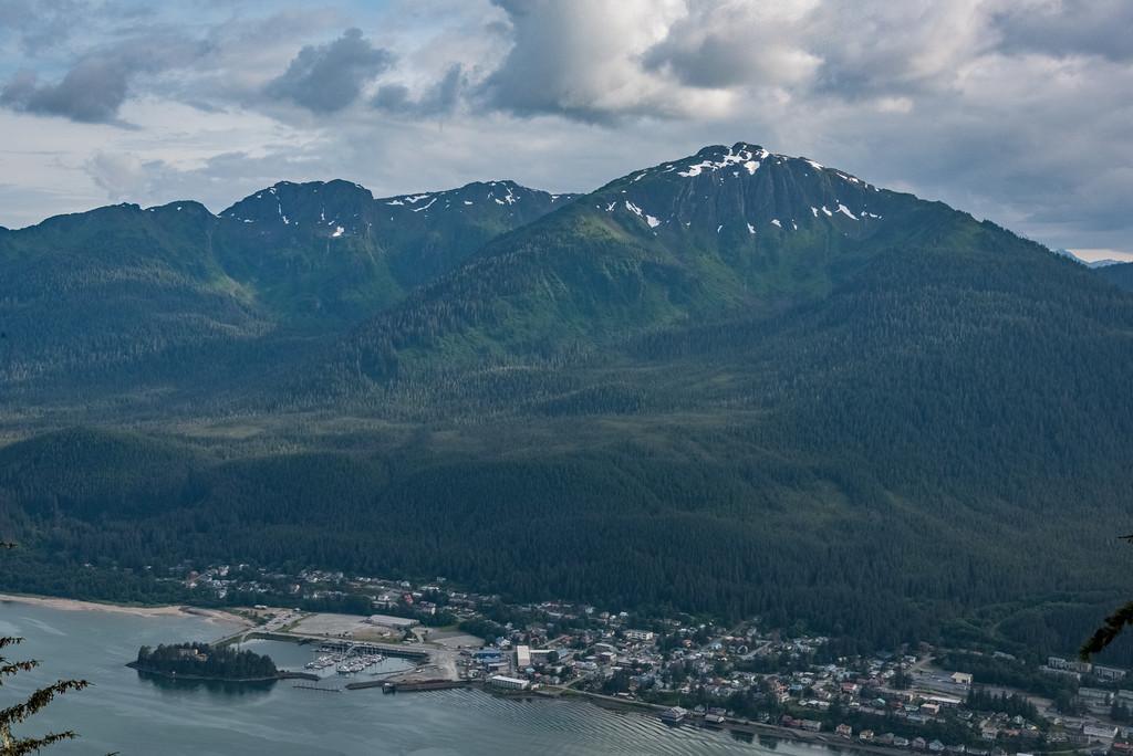Douglas Island, Across from Juneau