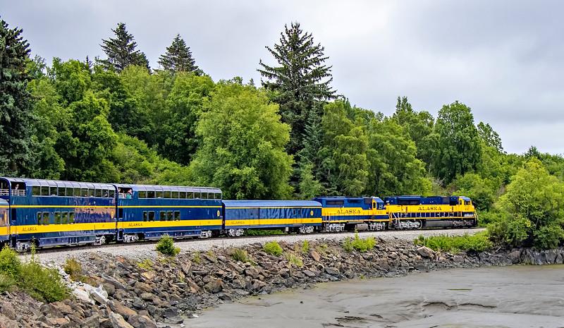 Alaska Railroad - Anchorage to Seward