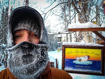 Selfie @ Billie's Backer Hostel — Fairbanks, Alaska