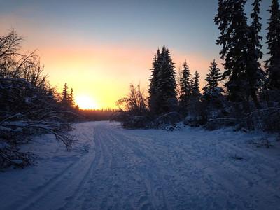 Noyes Slough, Fairbanks, Alaska