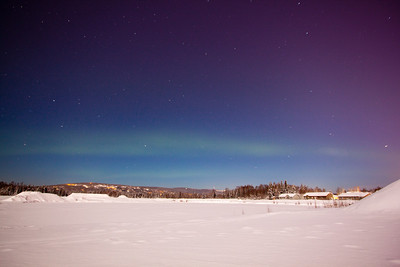 Aurora borealis — Fairbanks, Alaska
