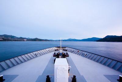 The Malaspina on the way to Juneau, Alaska