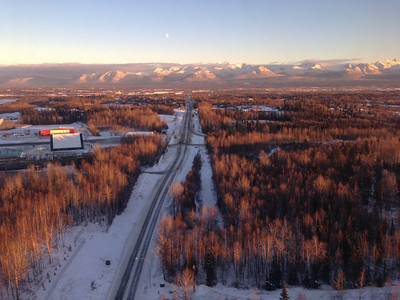 Above Anchorage, Alaska