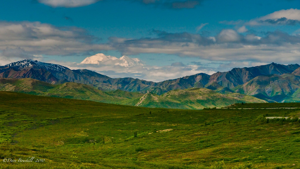 Mt. McKinley Denali National Park, Alaska
