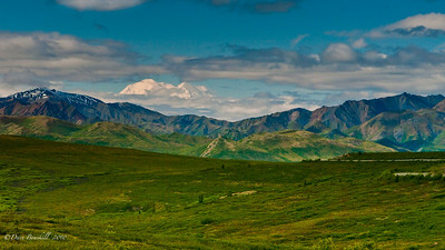 Mount McKinley in Denali National Park