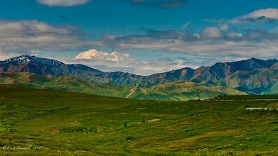 Mount McKinley in Denali National Park