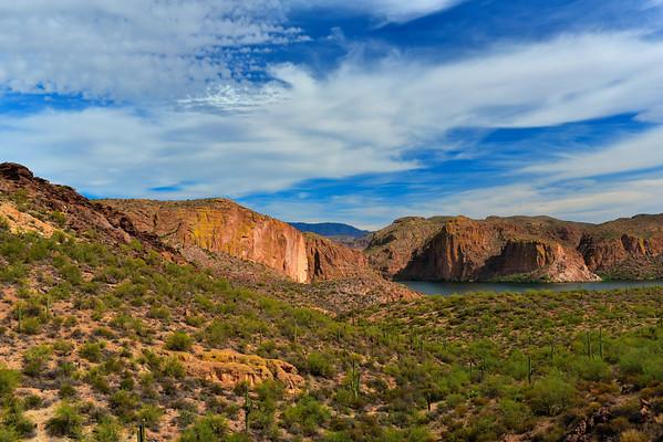 Gorgeous View of Canyon Lake