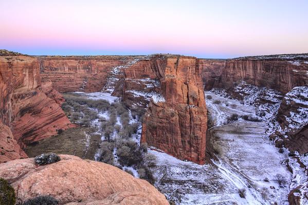 Canyon Del Muerto and Black Rock Canyon