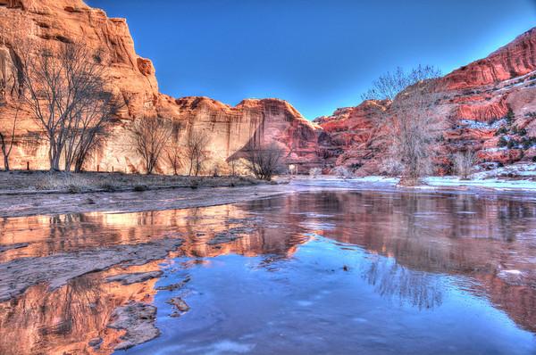Canyon Walls and river